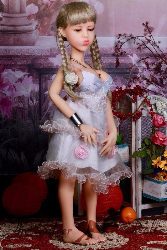 victoria sex doll 100cm vicky wears a floral dress   the
