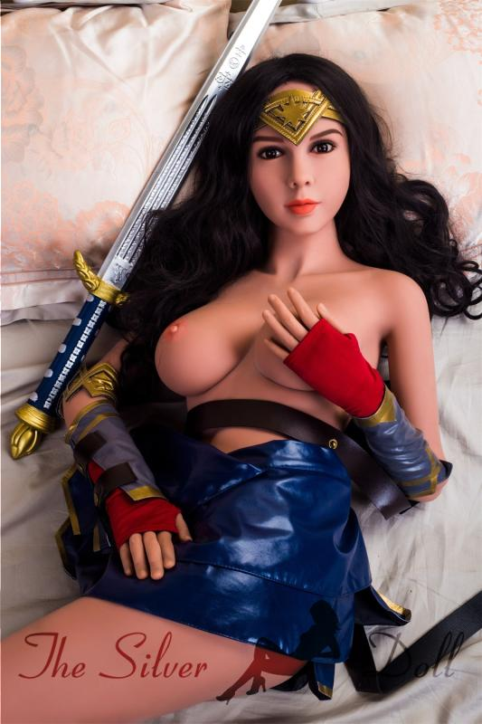 Naked Wonder Woman Nude Body Paint