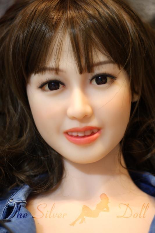 wm dolls 145cm minako in jeans dress the silver doll. Black Bedroom Furniture Sets. Home Design Ideas
